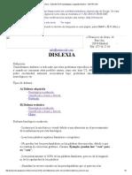 Dislexia __ Gabinete de Psicopedagogía y Logopedia Madrid __ CENTRO IDE