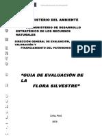 Guia de Evaluación de Flora y Fauna Silvestre