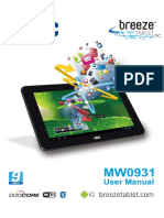 AOC MW0931 Tablet Manual Del Usuario V2.1