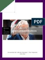 Análisis discurso José Mujica