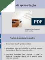 Carta de Apresentação Acadêmica