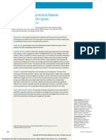 Depression and Survival in Patients With Head and Neck Cancer-A Systematic Review