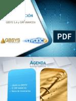 Presentacion de GBSYS - AVANCE