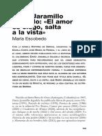 Dario Jaramillo Agudelo El Amor Es Ciego Salta a La Vista