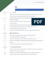 S-Corp 1120S Tax Filing Checklist - 2014