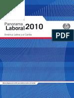 Panorama Laboral 2010 America Latina y El Caribe Publicacion OIT