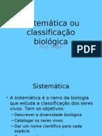 Classifcação biologica