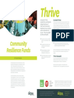 Community Resilience Funds