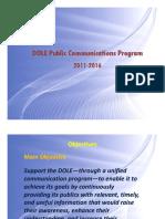DOLE Communications Program