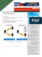 System Copy vs System Refresh (Sap) - Sap Basis Answers _ Sap Basis Admin Blog