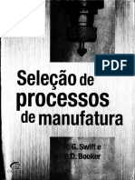 Seleção de Processos - Custeio de Componentes Cap 12