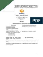 Resumen Financiero-grupo Televisa