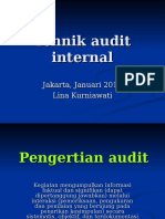 8. Tehnik Audit Internal