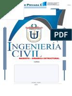 Dinamica Estructural Ensayo