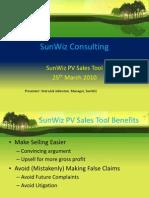 SunWiz PV Sales Tool