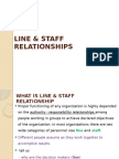 1 - Line & Staff Relationships