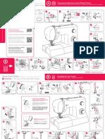 SINGER Manual <English 2200 Series QSG F 0202 Lo-res