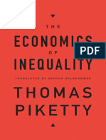 Thomas Piketty, Arthur Goldhammer (Trans.)-The Economics of Inequality-Harvard University Press (2015)