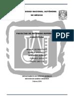 Manual Química Orgánica I IQ QOI 2016-II