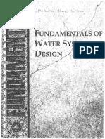 Fundamental of Water System Design
