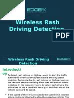 Wireless Rash Driving Detection