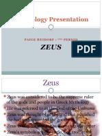 Mythology Presentation