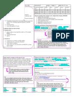 standard 2 - literacy unit planner