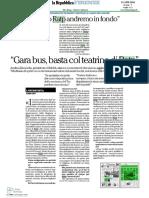 La Repubblica Firenze - 13.04.2016