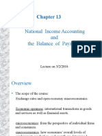 Chapter 13 National Income Accounting and the Balance of Payments