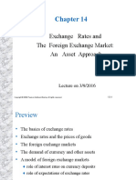 Chapter 14 Exchange Rates and the Foreign Exchange Market an Asset Approach