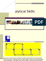 Analytical Skills 1.0 Day 1