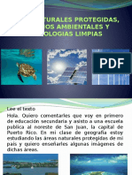 Areas Naturales Protegidas, Servicios Ambientales y Tecnologias