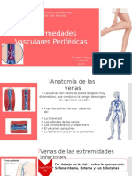 Enfermedades Vasculares PeriféricaS.