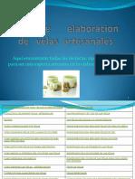 Curso de Elaboracion de Velas Artesanales