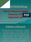 Research Methodology MHR