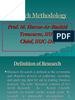 Research Methodology MHR