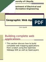 Geographic Web Application