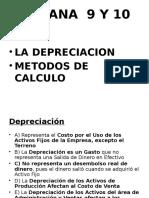 Depreciacion y Metodos de Calculo
