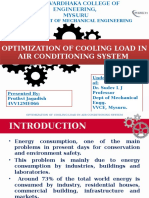 Optimization of Cooling Load in Air CoOPTIMIZATION OF COOLING LOAD IN AIR CONDITIONING SYSTEM.pptxnditioning System