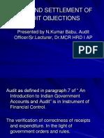 Audit Objections