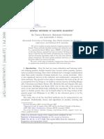 Kernal Methods Machine Learning