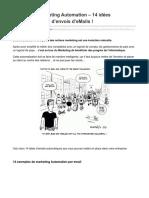 Conseilsmarketing.com-Adoptez Le Marketing Automation 14 Idées Dautomatisation Denvois DeMails
