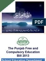 Free and Compulsory Education Act PUNJAB