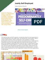 Predominantly Self Employed