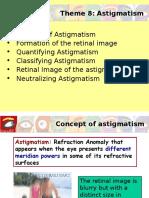 astigmatisma / silindris