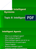 Topic 8 Intelligent Agents