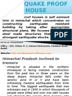 Himachal Pradesh Inclined to Tremors