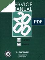 2000 chevrolet camaro pontiac firebird service manual volume 1 rh scribd com Manual Transmission GM 4 Speed Manual Transmission