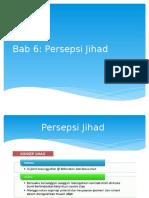 Bab 6 Jihad Lecture Ucsi