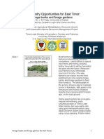 English-Indonesian-Tetum Article on Agroforestry